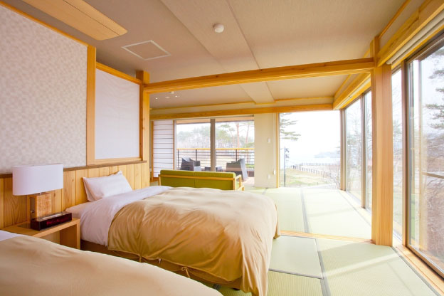 【Sky view annex Jiro no iori】Modern Japanese-style Room with outdoor bath (20-mats)