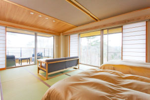 【Sky view annex Jiro no iori】Modern Japanese-style Room with outdoor bath(14-mats)